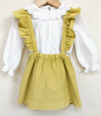 Naños Dress And Blouse Set 23M Very Good Condition (like Bonpoint)