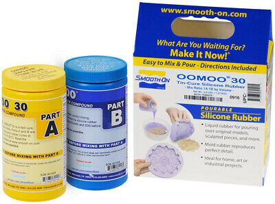 Smooth-On Silicone Mold Making, Liquid Rubber Easy to Use - Trial Size 2.8 lb