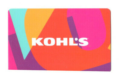 Kohl's Kohls Gift Card $10.00 Not A Merchandise Credit Ten Dollars New
