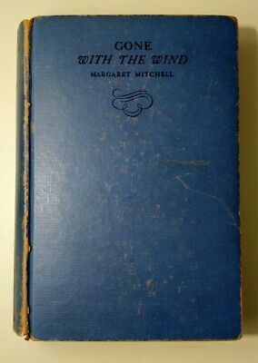Gone with the Wind Margaret Mitchell First Edition Later Printing 1936 MacMillan