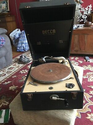 Decca 50 Portable Record Player Gramophone Please Read Description