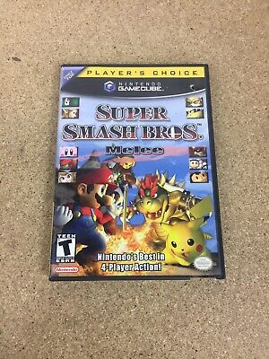 Super Smash Bros. Melee (Nintendo GameCube, 2001) CIB Lot #1