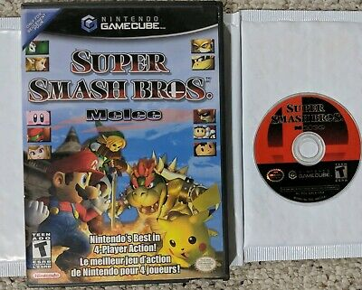 Super Smash Bros Melee - Nintendo Gamecube - Tested