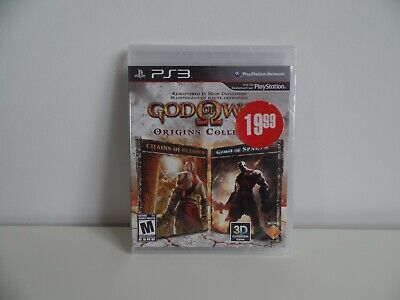 God of War: Origins Collection (Sony PlayStation 3) - BRAND NEW