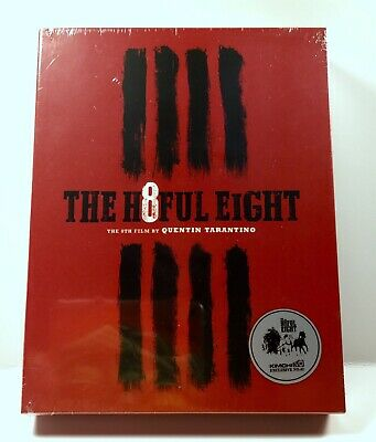 SEALED The Hateful Eight Kimchi Blu Ray Steelbook Region Free Numbered Import
