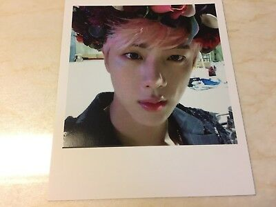 BTS JIN [ WINGS Official Polaroid Photocard ] 2nd Album / NEW / + Shop Gift