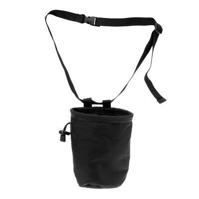 Cylindrical Waterproof Nylon Rock Climbing Chalk Bag with Waist Belt