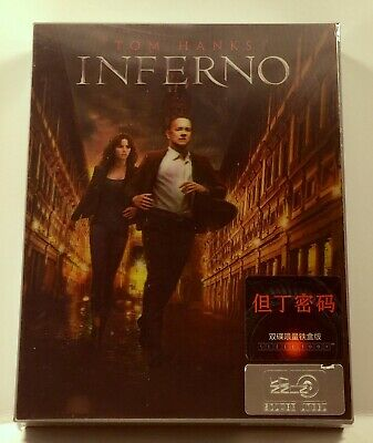 SEALED Inferno Lenticular Blu-Ray SteelBook Silver Label Series NUMBERED Import