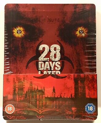 SEALED 28 Days Later Steelbook Bluray UK Import