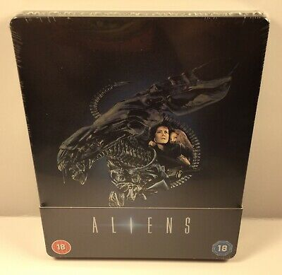Sealed Aliens On Blu-Ray Steelbook! Uk Zavvi Exclusive+Region Free! Import