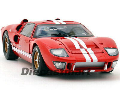 Shelby Collectibles 1:18 1966 Ford Gt GT40 Mkii Diecast Voiture Classique Rouge