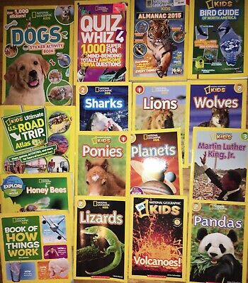 14 Book National Geographic Lot Leveled Chapter Readers Plus Xtras Books