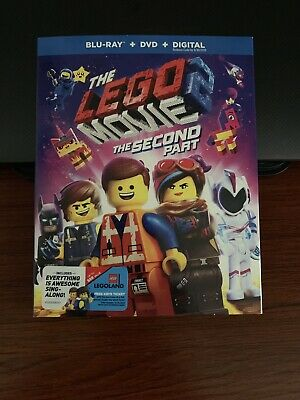The Lego Movie 2: The Second Part (Blu-Ray/DVD - 2019) No Digital Code Included