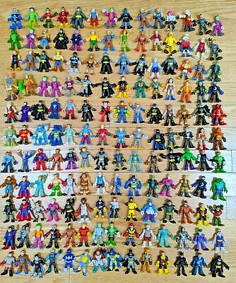 Huge Lot Of Imaginext Character Figures Super Hero DC Batman Power Rangers More!