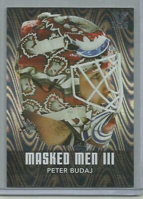 Peter Budaj 1 of 5  ITG VAULT  2010/11  Between the Pipes Masked Men 3 Silver