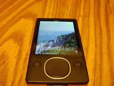 Microsoft Zune 80 Joy Division Limited Edition Black(80 GB)new battery installed