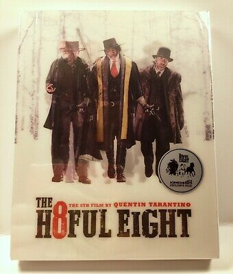 SEALED The Hateful Eight (Blu-ray) Steelbook Edition NUMBERED Region Free Import