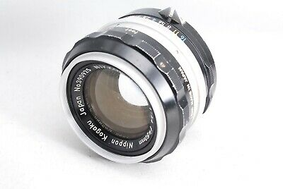 Nikon Nikkor-S non-Ai 50mm 1:1.4 F/1.4 lens from Japan 390925