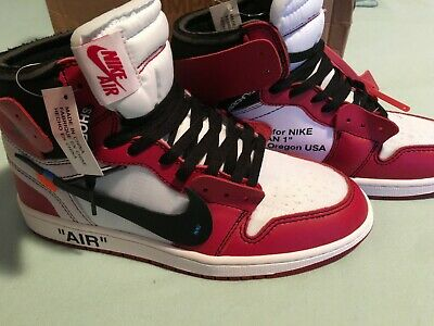 release date: 4f195 728e1 Nike x Off-White Air Jordan 1 Chicago OW AA3834-101 Size 7-