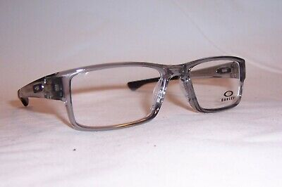 NEW OAKLEY EYEGLASSES AIRDROP OX 8046 8046-03 GRAY 55mm RX AUTHENTIC 804603