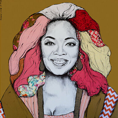GILLIE AND MARC. Direct from artists. Art Print Edition 'Womens Equality Oprah'