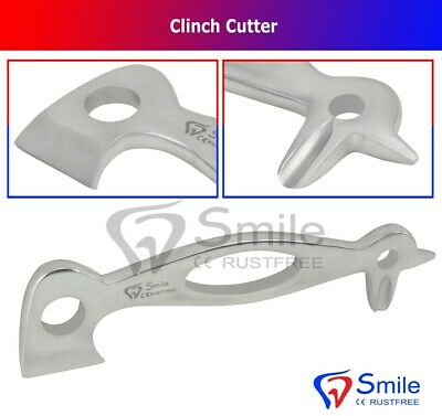 Smile® Clinch Cutter Nail Remover Hoof Buffer Stainless Steel Farrier Heavy Duty