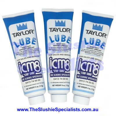 3 x 113g Taylor Food Grade Lube Blue Tube Lubricant Daily dispatch AU