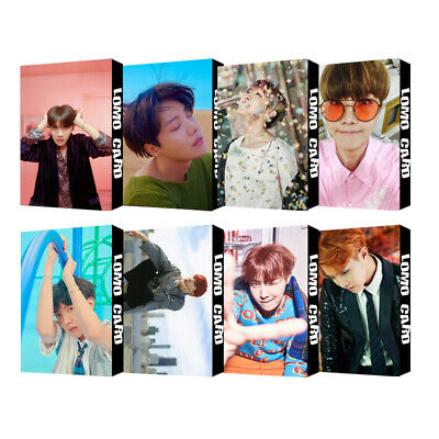 KPOP New Bangtan Boys Lomo Card All Album JHOPE Personal Photo Card 30pc/Set