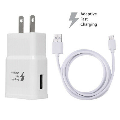 for Samsung Adaptive Fast Travel Wall Charger +Cable for Galaxy S8 S9 Plus S10+