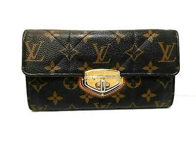 premium selection bad9d 47e7b AUTH LOUIS VUITTON Monogram Etoile Portefeuille Sarah Wallet ...