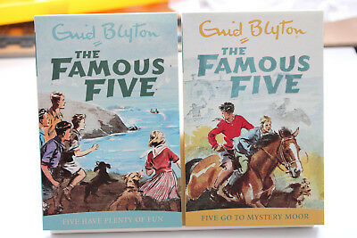 Famous Five - Five Have Plenty Of Fun & Five Go To Mystery Moor