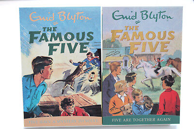 Famous Five - Five Have A Mystery To Solve & Five Are Together Again