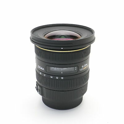 SIGMA 10-20mm F3.5 EX DC HSM (for SONY A mount) -Near Mint- #233
