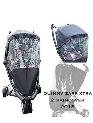 Quinny Zapp Extra 2 Rain Cover Brand New-Seal Opened For Picture