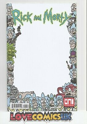 Rick And Morty #40 Scorpion Comics Exclusive Sketch Cover Oni Press