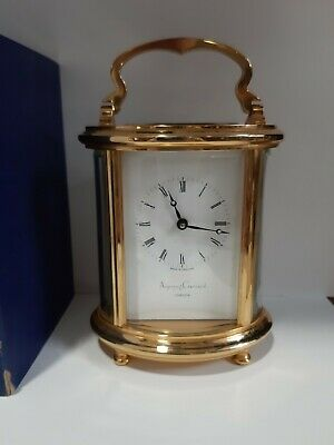 Asprey&Garrard 11 Jewel Carriage Clock 1999.Excellent Condition.