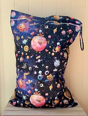 Extra Large Wet Bag - Floral Space