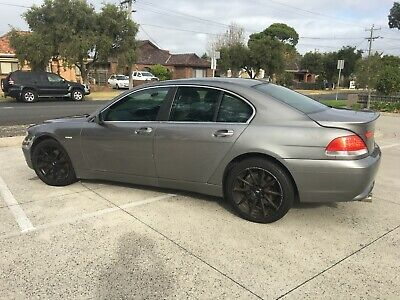 2002 BMW 745i V8 6sp Auto Sedan - No Reg, No RWC (No Reserve)