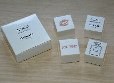 VIP gift 2019 Chanel Coco Mademoiselle set of rubber stamps NIB RARE