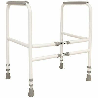 NRS Healtcare M00870 Free Standing Toilet Frame
