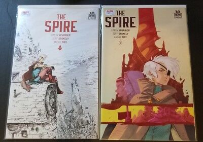 2015 NM// Murder In The Spire #1 Spurrier//Stokely Boom Spire