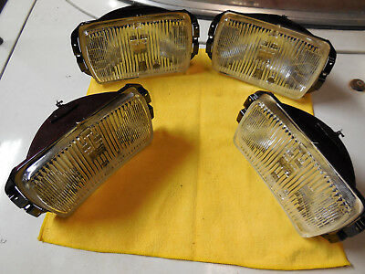 Cibie type 175 NOS clear fog lens units BLOW OUT OFFER (2 pair) REDUCED PRICE