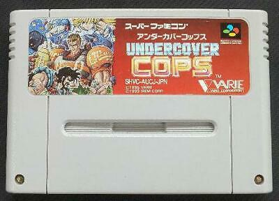 UNDERCOVER COPS - game For SNES Super Nintendo - Arcade style beat
