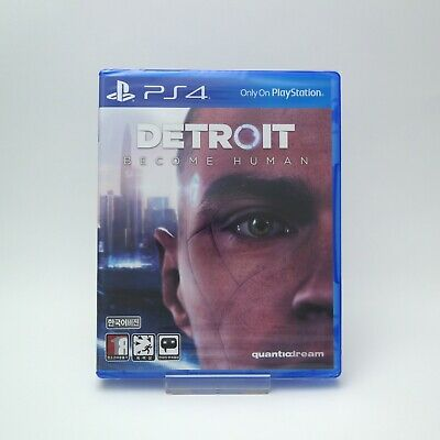 Detroit: Become Human - PS4 Korean Edition (2018) / Package