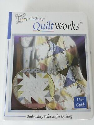 Designer's Gallery: Quilt Works Embroidery Software For Quilting