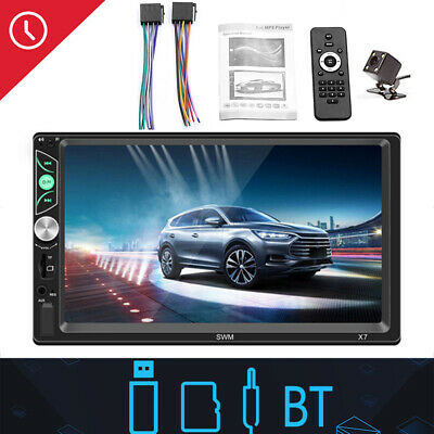 """7"""" Inch Double Din WIFI Android 8.1 Car Stereo GPS Navigation Radio Player New"""