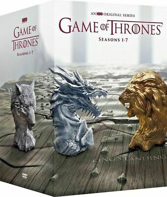 Game Of Thrones:the Complete Seasons 1-7 Box Set Brand New Dvd.34 Disc Set