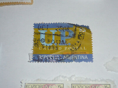 POST STAMP TIMBRE POSTE used ARGENTINA