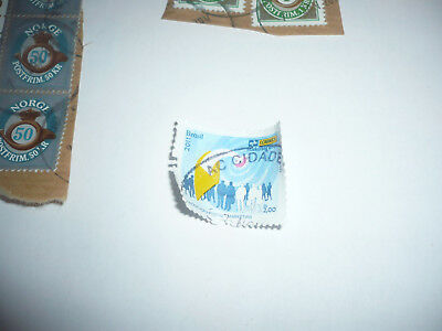 POST STAMP TIMBRE POSTE used BRAZIL