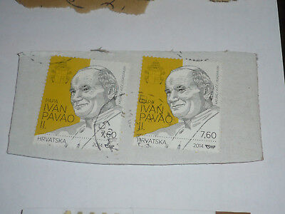 POST STAMP TIMBRE POSTE used CROATIA